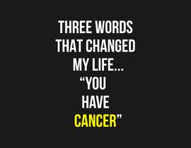 #1 untuk I want a T shirts for cancer awareness.  The word Cancer should be in different colors to represent the different types of Cancer.  This will be placed on a dark colored shirt. oleh miladinka1