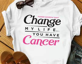 #10 untuk I want a T shirts for cancer awareness.  The word Cancer should be in different colors to represent the different types of Cancer.  This will be placed on a dark colored shirt. oleh hasembd