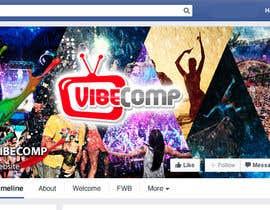 CosmoTyler tarafından Design a Wallpaper for VibeComp Facebook page için no 23