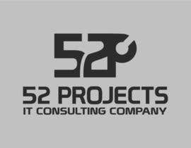 #92 untuk Logo Design for 52Projects oleh VaraxenDesigns