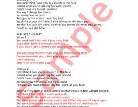 #26 pentru Write lyrics for the second verse of the song de către KuriaLiew