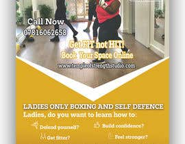 #22 cho Design a LADIES ONLY BOXING poster - A4 size bởi SwiftTech3