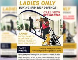 #33 cho Design a LADIES ONLY BOXING poster - A4 size bởi akasmakhatun3