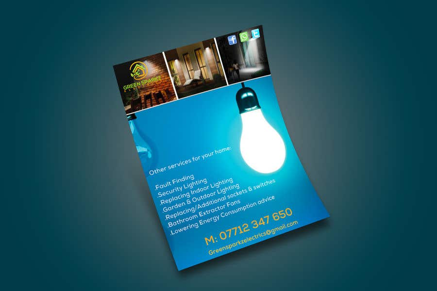 Contest Entry #16 for domestic electrical business marketing flyer  - 22/11/2019 07:39 EST