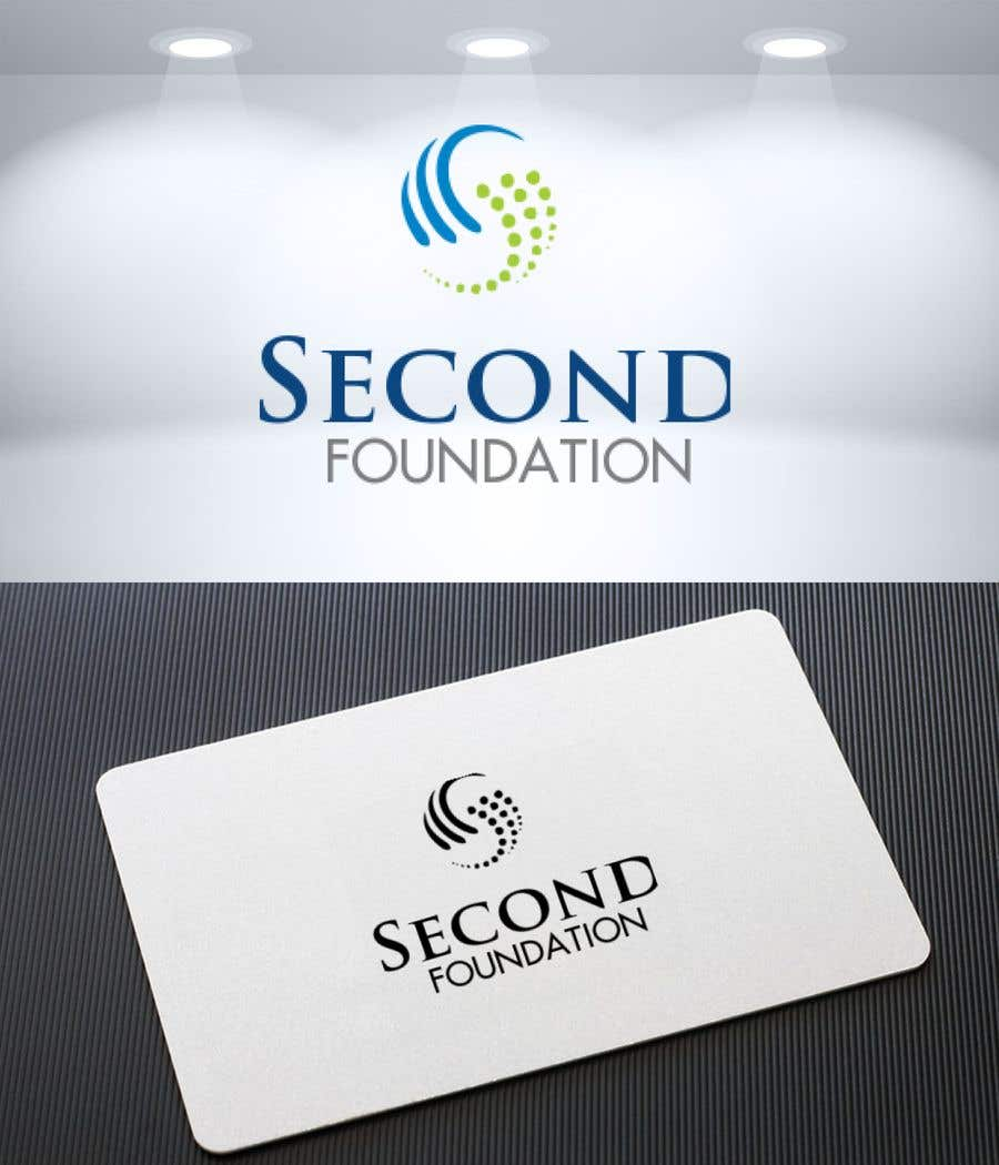 Contest Entry #                                        38                                      for                                         Logo: Company name: Second Foundation,  You can use full text as SECOND FOUNDATION or SF or S&F