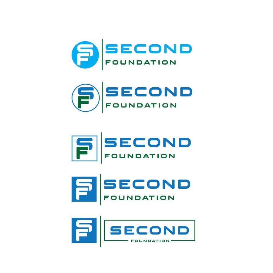 Contest Entry #27 for Logo: Company name: Second Foundation,  You can use full text as SECOND FOUNDATION or SF or S&F