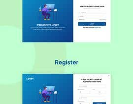 #25 for CSS styling for a webpage register and login page by sirajkhan1992
