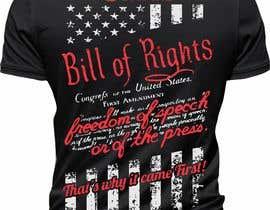 #108 для First Amendment T Shirt от elitesniper