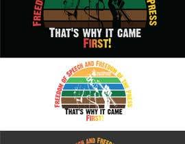 #107 для First Amendment T Shirt от Maxbah
