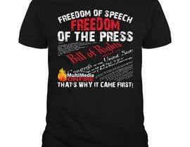 #48 для First Amendment T Shirt от enam247