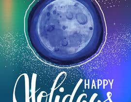 #80 pentru Blue Moon Holiday Card Illustration de către GoldenAnimations