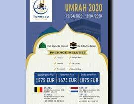 #33 pentru new Flyer for Umrah 2020 de către barnitashil