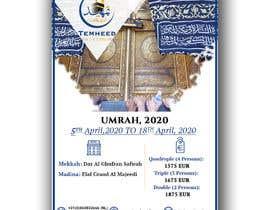 #49 pentru new Flyer for Umrah 2020 de către khantayaba
