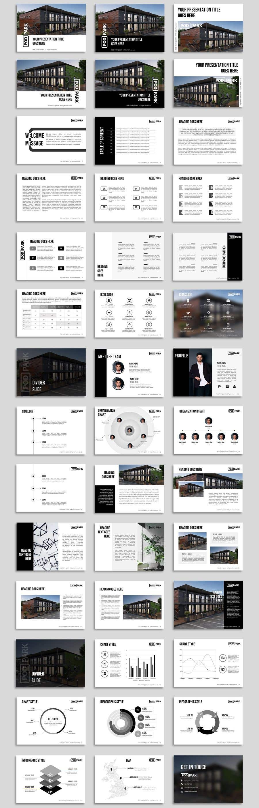 Contest Entry #51 for Design a presentation document template