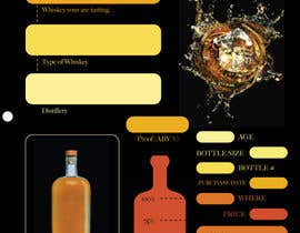 nº 7 pour Create 2-Sided Print Design for a Whiskey Enthusiast Product par ndreamc