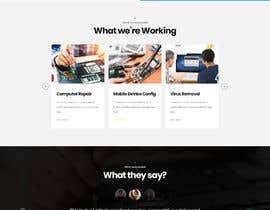 #74 pentru Website Design - Technical Support Services de către Tonisaha