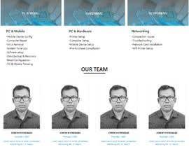#62 pentru Website Design - Technical Support Services de către JTuhin017