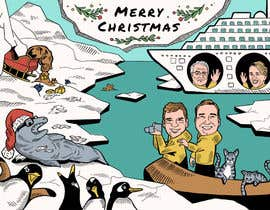 #7 para Illustrate a holiday card por sengnirane