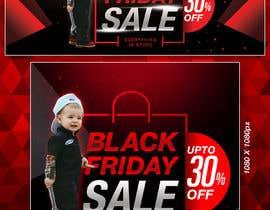 #205 for banner for Black Friday sale af Ganeshgs99