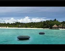 #12 for Add background -----Film ------ Cinema  -----  Add Ocean look, waves, clouds, horizon af Hammad3002