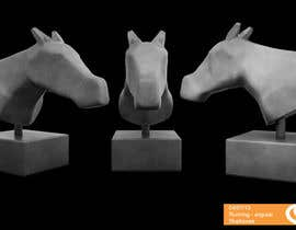 nº 51 pour Graphic Design for a unique Horse Statue. par cocovisual