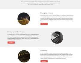 Nro 43 kilpailuun Design a Website Mockup for Software consultancy business käyttäjältä negibheji