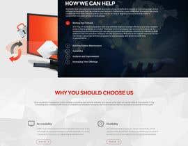 Nro 24 kilpailuun Design a Website Mockup for Software consultancy business käyttäjältä tania06
