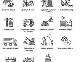 #10 for Need 16 Vector Icons for Construction/Equipment categories af abitha17289