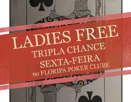 #13 para Projetar um Banner for Poker Tournament Ladies Free por DZetaWeb