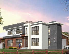 #34 untuk Design a contemporary facade for a new house oleh ranjsand1412
