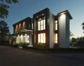 #44 untuk Design a contemporary facade for a new house oleh indrabudiman80