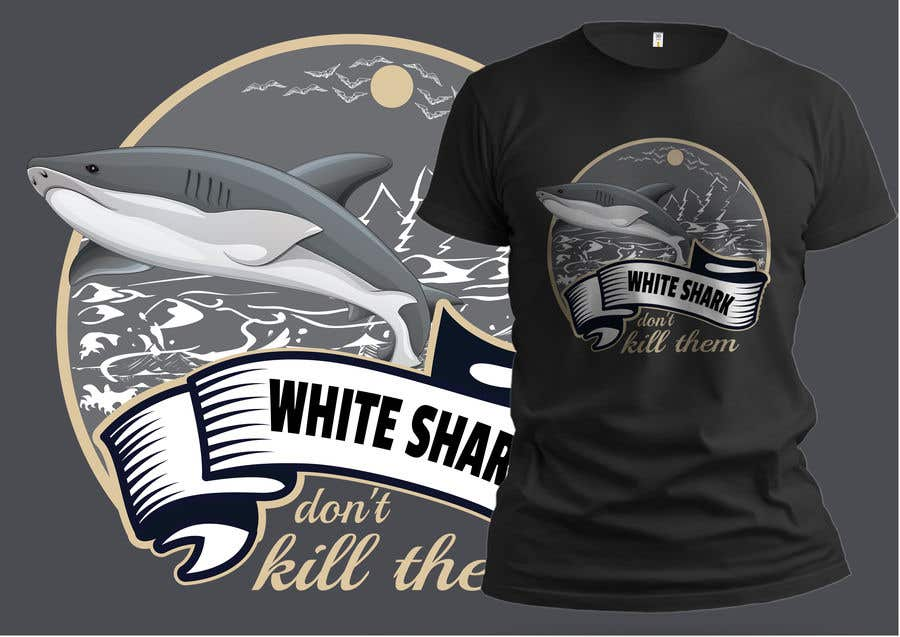 Kilpailutyö #114 kilpailussa Graphic Design for Endangered Species - Great White Shark