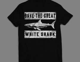 #92 для Graphic Design for Endangered Species - Great White Shark от mdminhajuddin