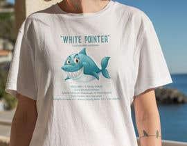 #85 для Graphic Design for Endangered Species - Great White Shark от mdyounus19