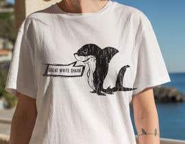 #101 для Graphic Design for Endangered Species - Great White Shark от mdyounus19