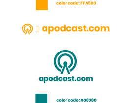 Nro 66 kilpailuun ((Å))podcast.com logo / business card / favicon käyttäjältä rakibhasanpriyo
