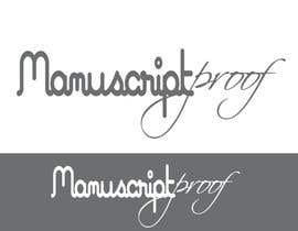 #82 para Logo Design for Manuscript Proof por inspirativ