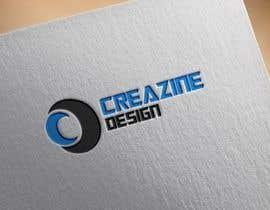 "satpalsood tarafından Design a Logo for ""Creazine Design"" için no 80"