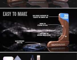 #118 para Design wood trophy por NaifChowdhury