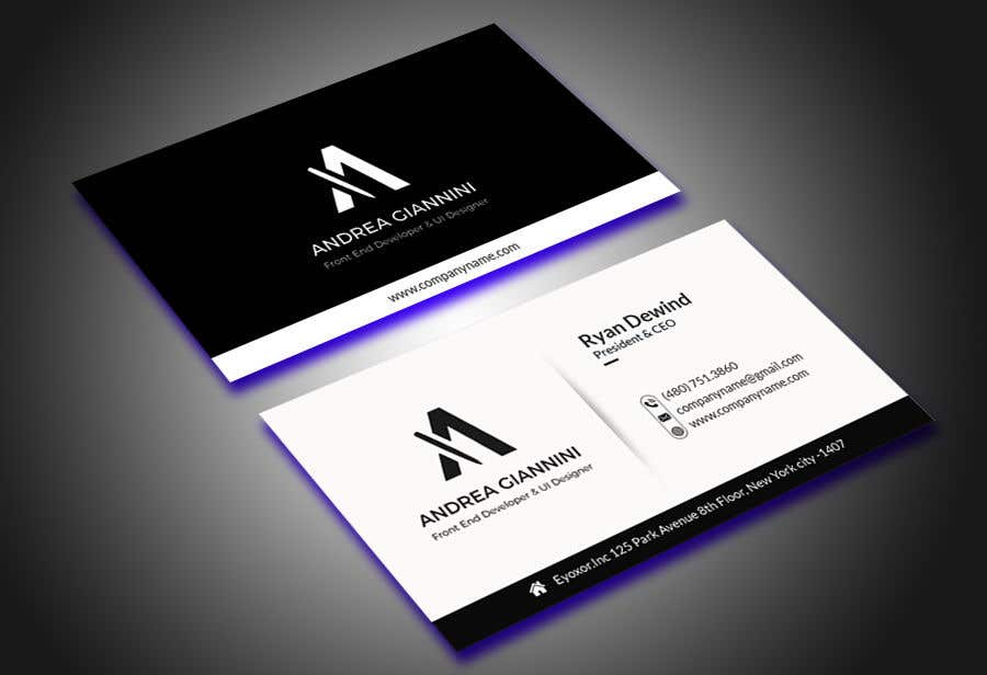 Contest Entry #134 for Andreality business cards