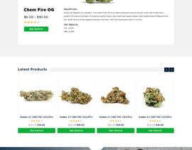 #17 para Need an attractive and simple website for Cannabis Products de greenarrowinfo