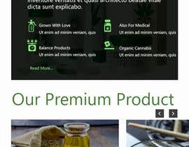#18 para Need an attractive and simple website for Cannabis Products de ronzwebfactory