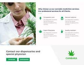 #4 para Need an attractive and simple website for Cannabis Products de marbei