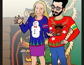 #12 for Cartoon drawings(Marvel like) of me and my girlfriend for a christmas cards af manikmoon