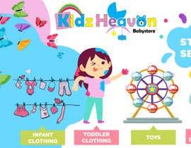 momenulstudio tarafından Banner for Kids Store için no 10