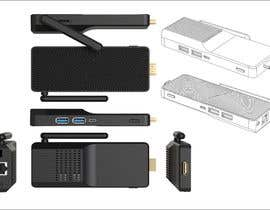 #14 para Design a casign for  a Mini PC Stick de Supra1977