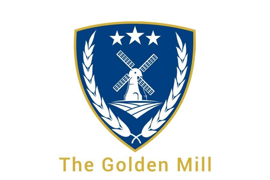 "Entri Kontes #9 untukA Logo for ""The Golden Mill"""