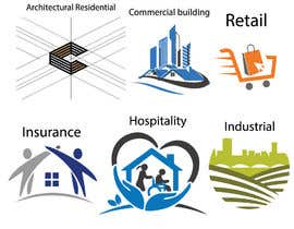 #4 cho Set of architectural logos bởi mozibulhoque666