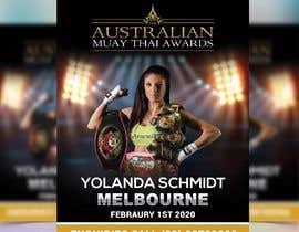 #13 para design special guest posters for Muay Thai Awards por rajdhaniprinters