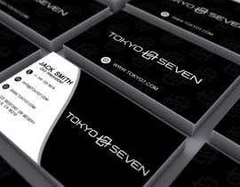 "#610 cho Modern business card design ""TOKYO SEVEN"" bởi studio6751"